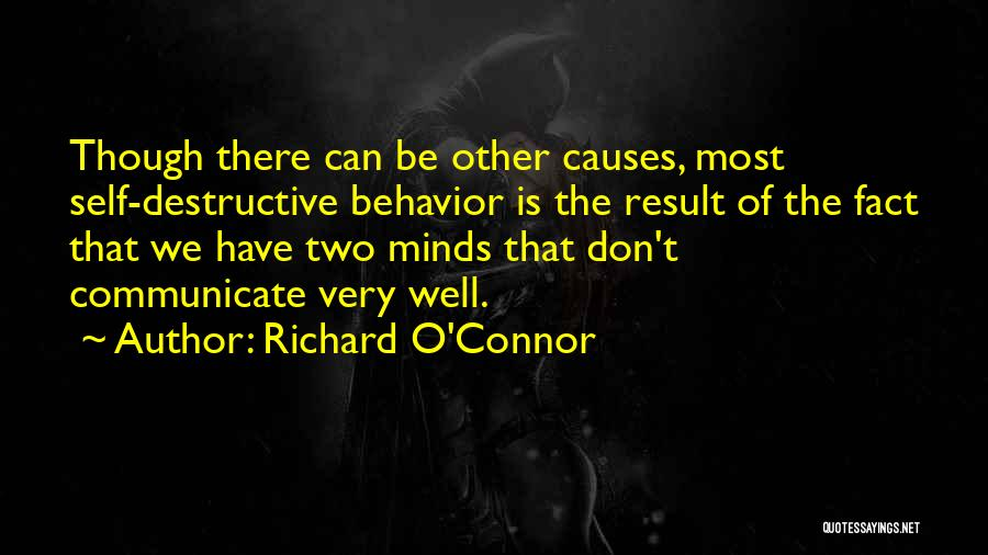 Communicate Well Quotes By Richard O'Connor