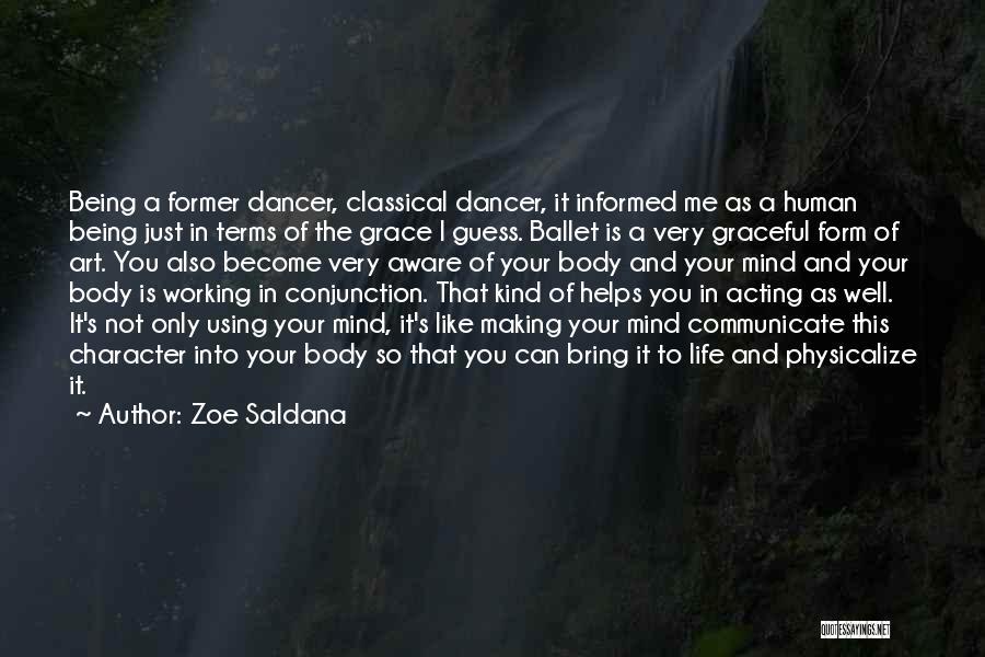 Communicate Well Quotes By Zoe Saldana