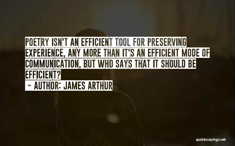 Communication Poetry Quotes By James Arthur