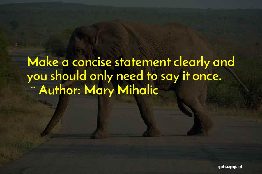 Communication Skills In Business Quotes By Mary Mihalic