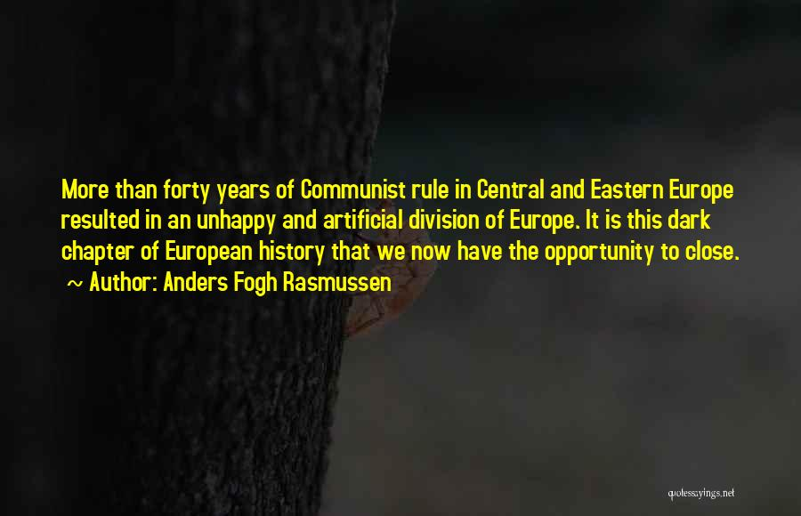 Communist Quotes By Anders Fogh Rasmussen