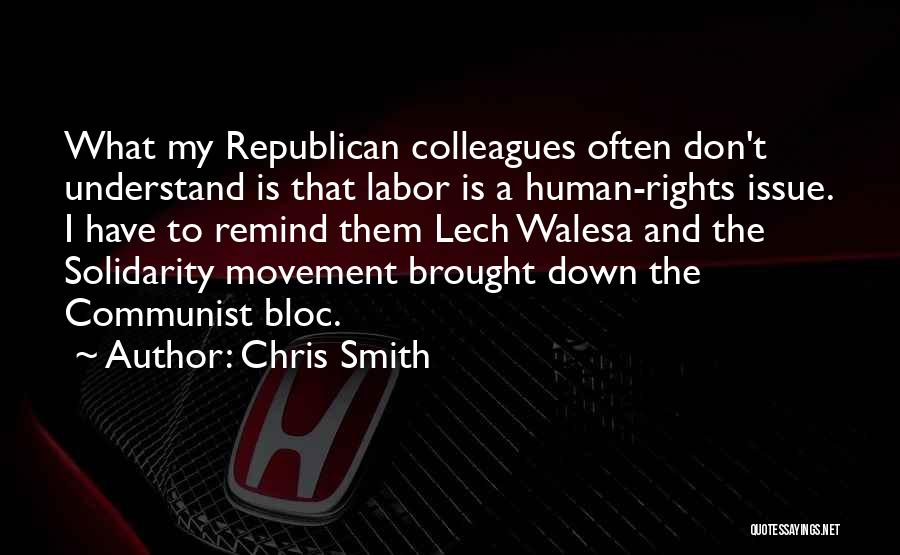 Communist Quotes By Chris Smith