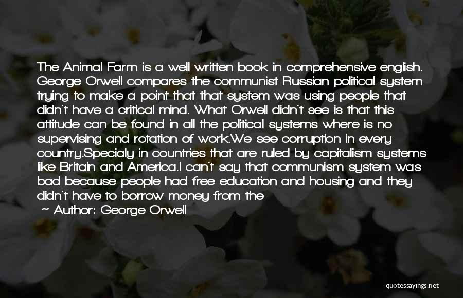 Communist Quotes By George Orwell