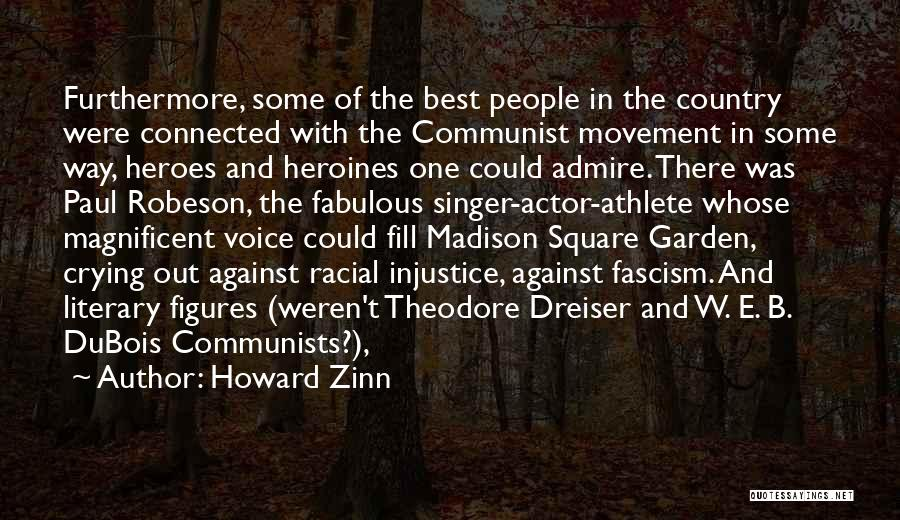Communist Quotes By Howard Zinn