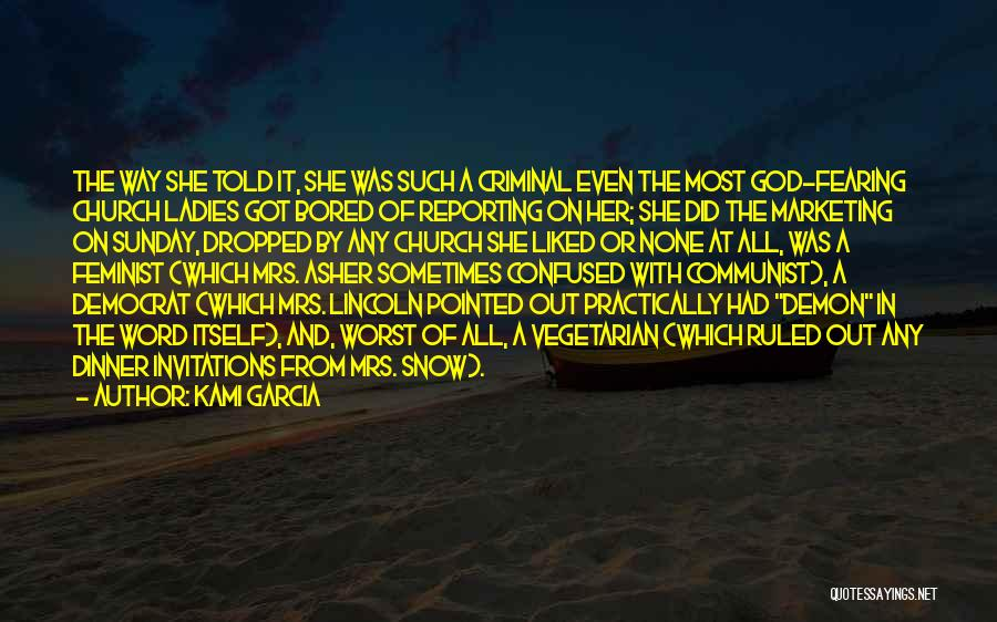 Communist Quotes By Kami Garcia