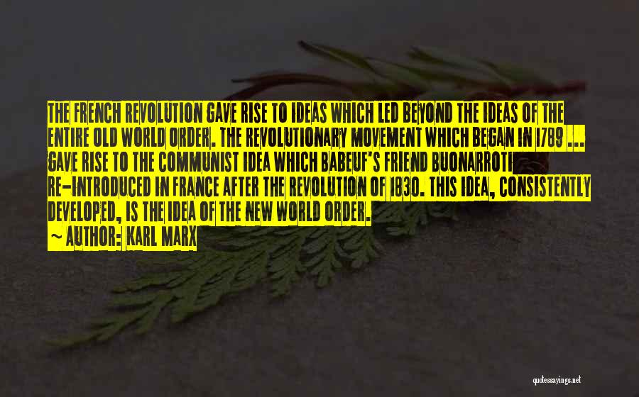Communist Quotes By Karl Marx