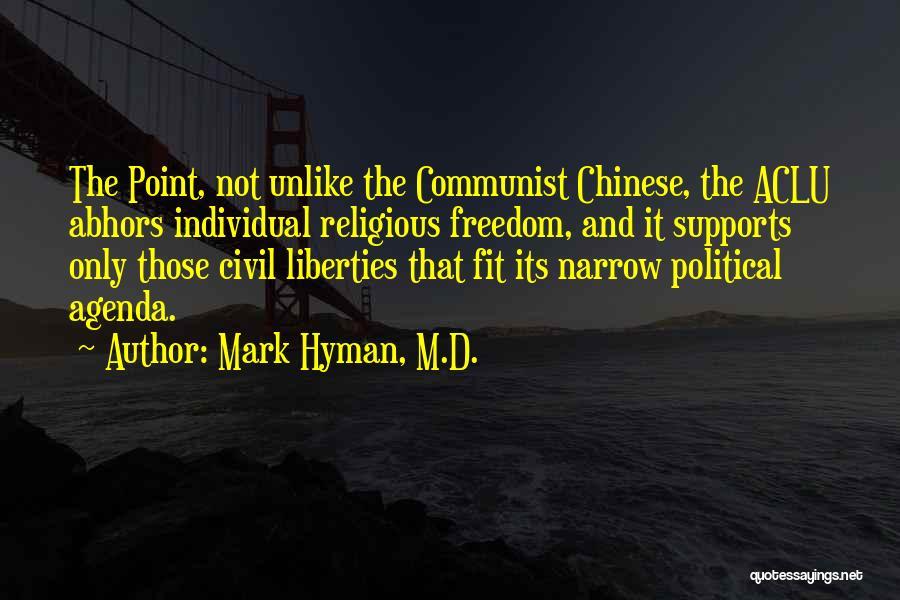 Communist Quotes By Mark Hyman, M.D.