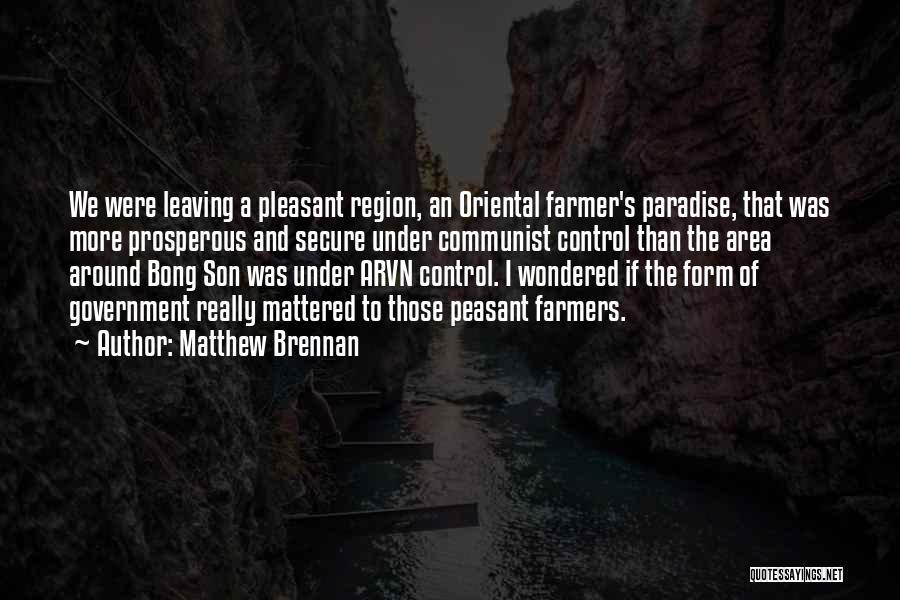 Communist Quotes By Matthew Brennan