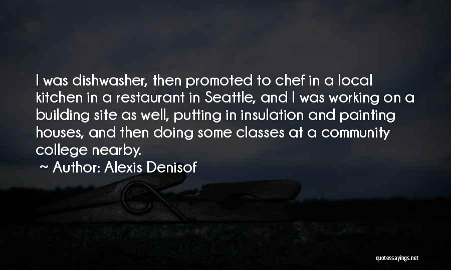 Community College Quotes By Alexis Denisof