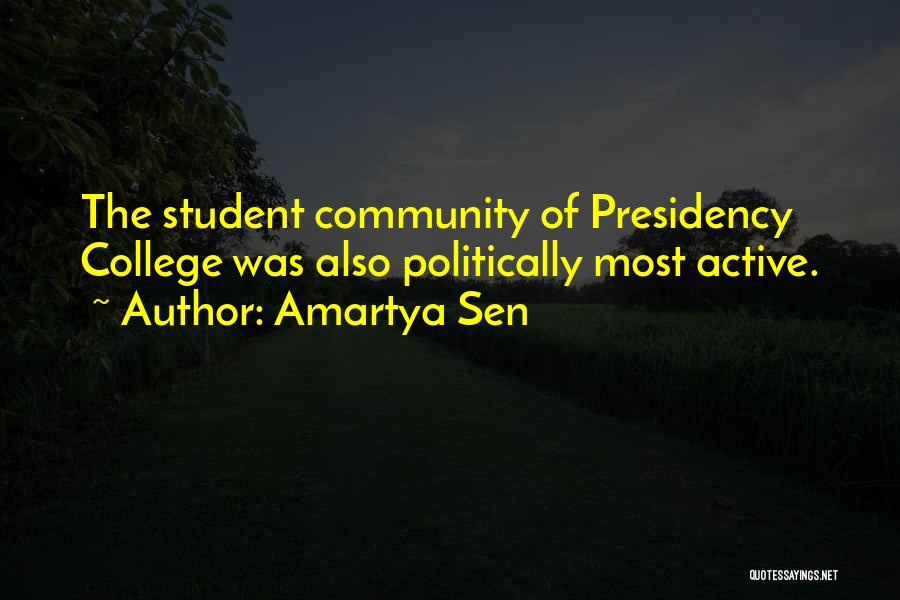 Community College Quotes By Amartya Sen