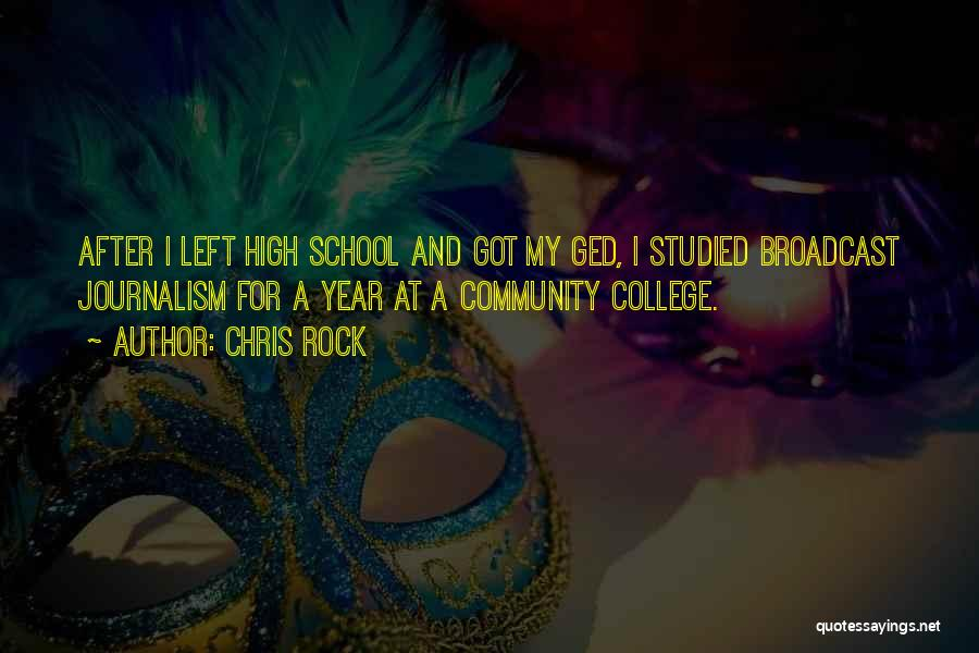 Community College Quotes By Chris Rock