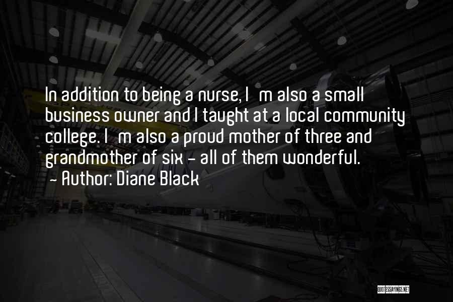 Community College Quotes By Diane Black