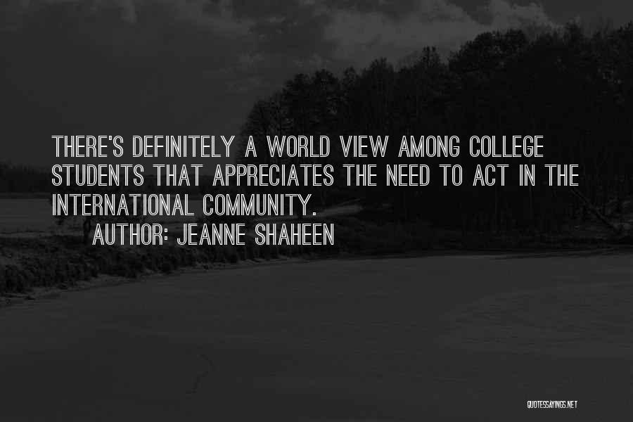 Community College Quotes By Jeanne Shaheen