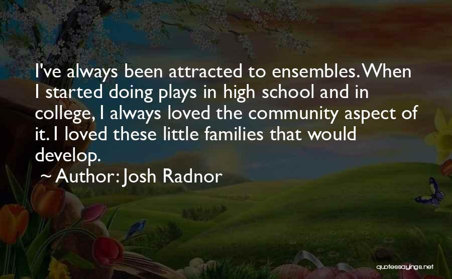 Community College Quotes By Josh Radnor