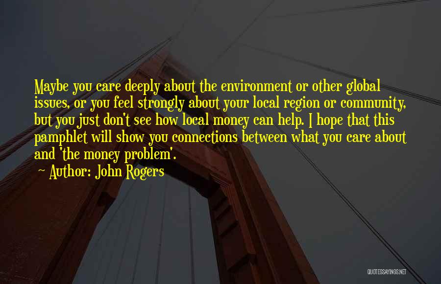 Community The Show Quotes By John Rogers