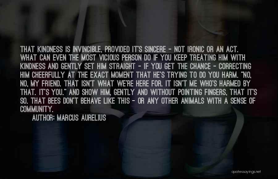 Community The Show Quotes By Marcus Aurelius