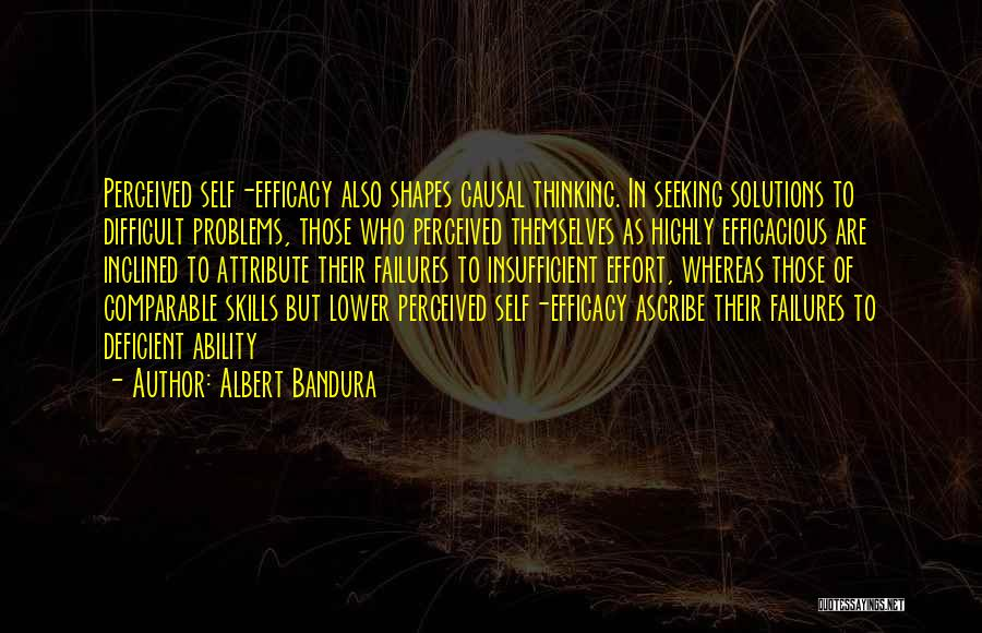 Comparable Quotes By Albert Bandura