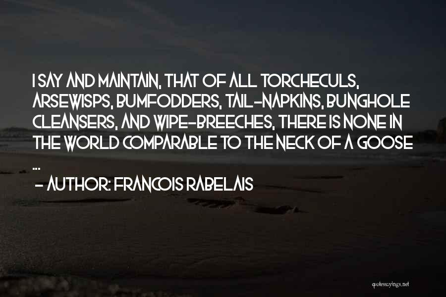 Comparable Quotes By Francois Rabelais