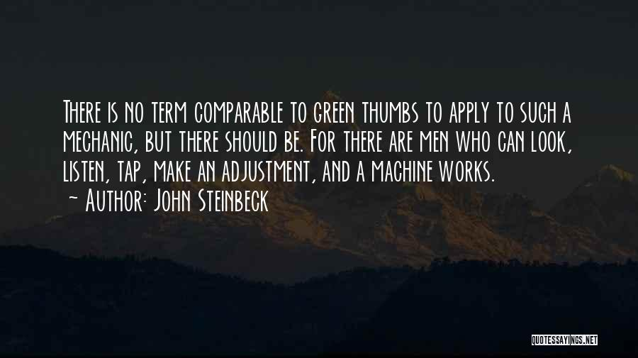 Comparable Quotes By John Steinbeck