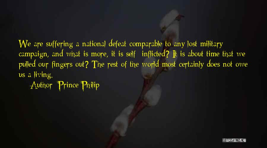 Comparable Quotes By Prince Philip