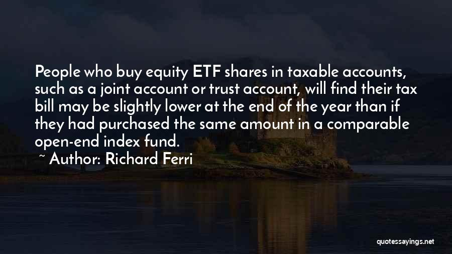 Comparable Quotes By Richard Ferri