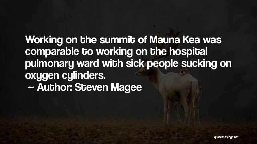 Comparable Quotes By Steven Magee