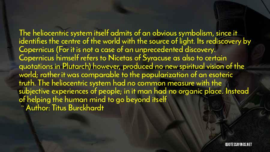 Comparable Quotes By Titus Burckhardt
