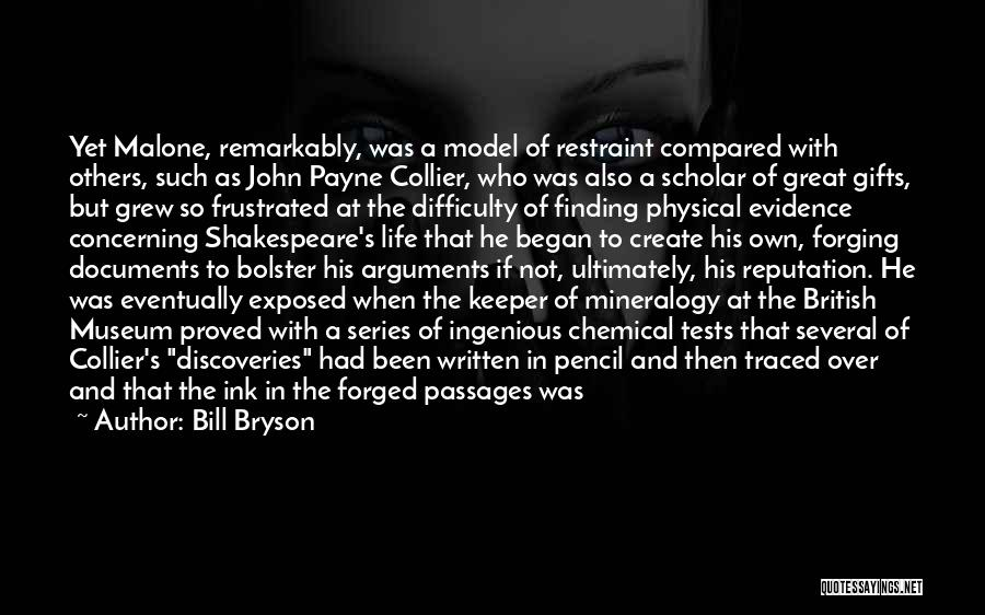 Compared Quotes By Bill Bryson