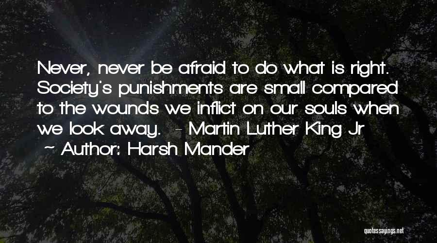 Compared Quotes By Harsh Mander