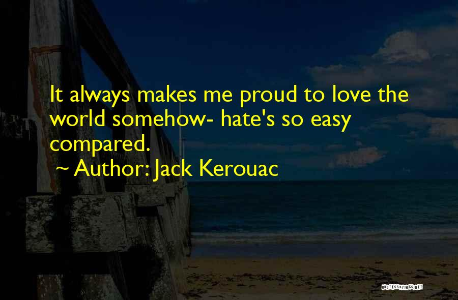 Compared Quotes By Jack Kerouac