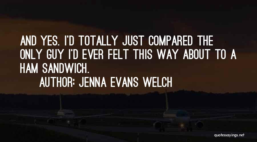 Compared Quotes By Jenna Evans Welch
