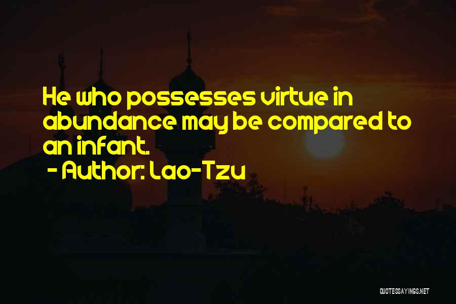 Compared Quotes By Lao-Tzu