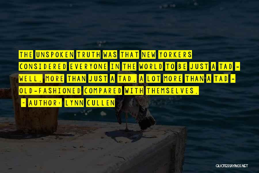 Compared Quotes By Lynn Cullen