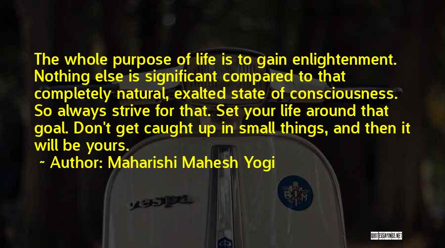 Compared Quotes By Maharishi Mahesh Yogi
