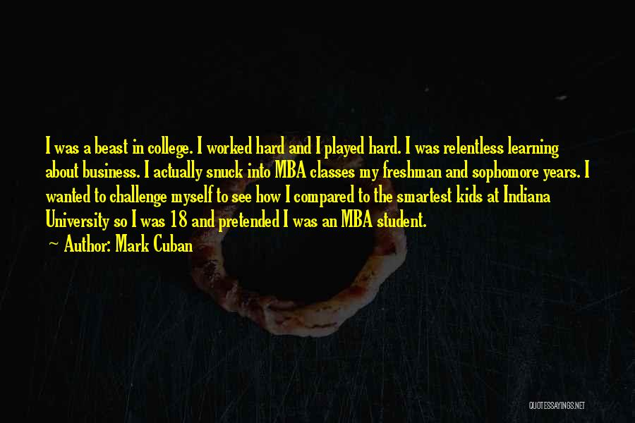 Compared Quotes By Mark Cuban