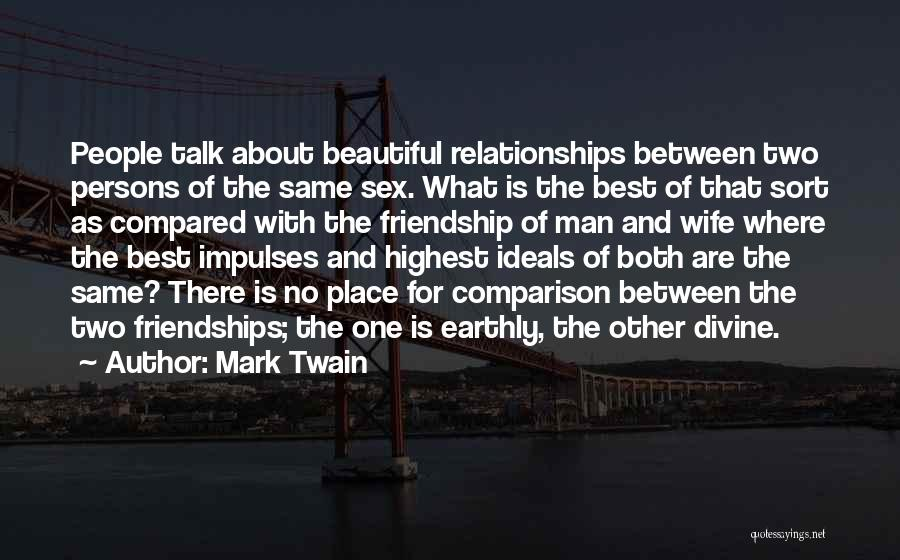 Compared Quotes By Mark Twain