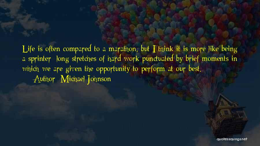 Compared Quotes By Michael Johnson