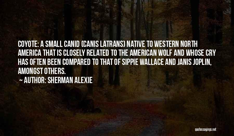 Compared Quotes By Sherman Alexie