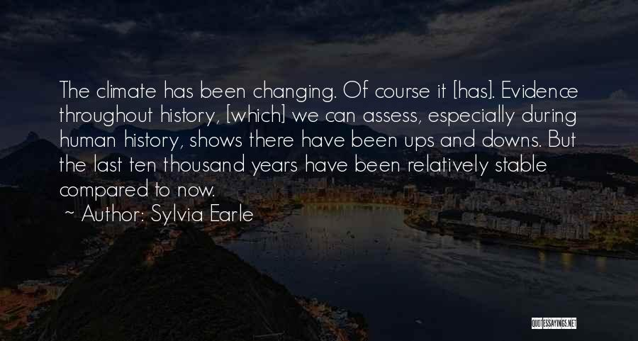Compared Quotes By Sylvia Earle
