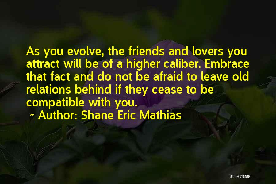 Compatible Friends Quotes By Shane Eric Mathias