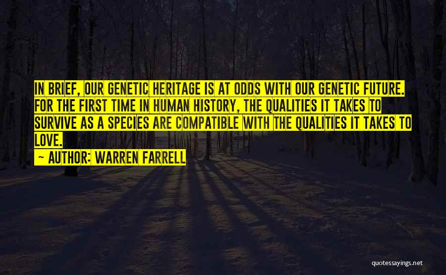 Compatible Love Quotes By Warren Farrell