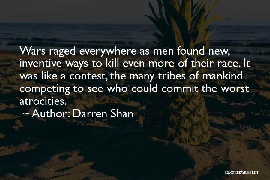 Competing With Others Quotes By Darren Shan