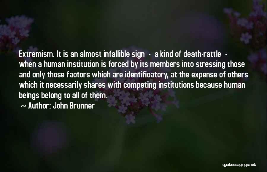 Competing With Others Quotes By John Brunner