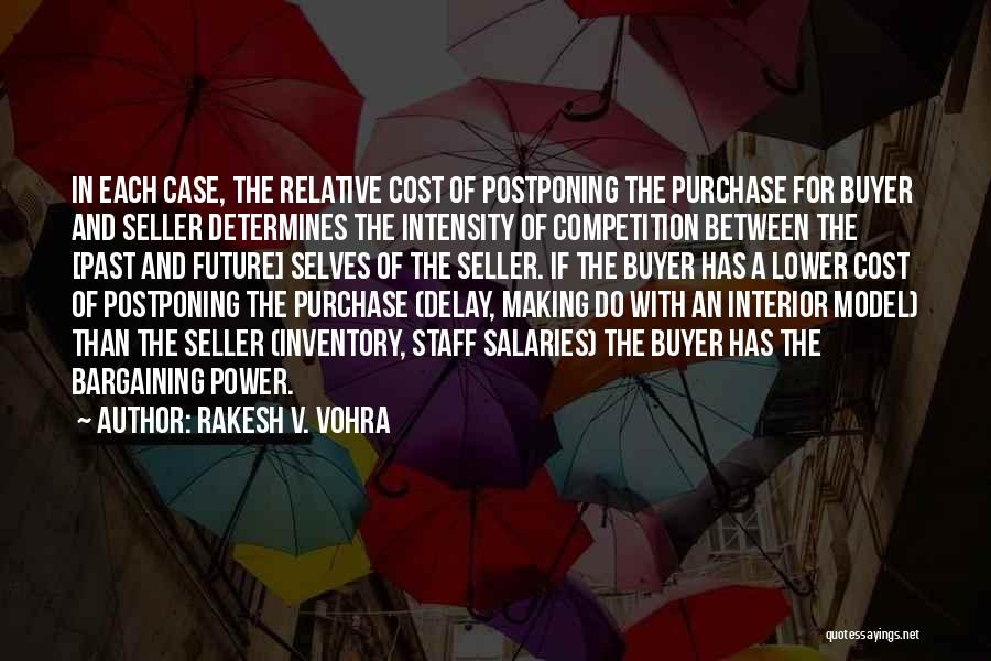 Competing With Others Quotes By Rakesh V. Vohra