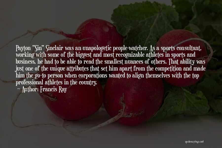 Competition In Love Quotes By Francis Ray