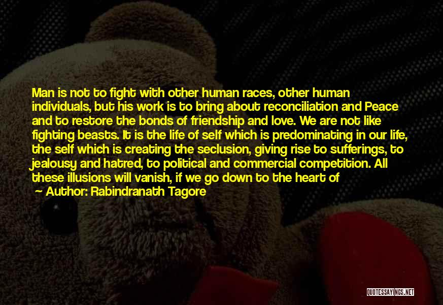 Competition In Love Quotes By Rabindranath Tagore