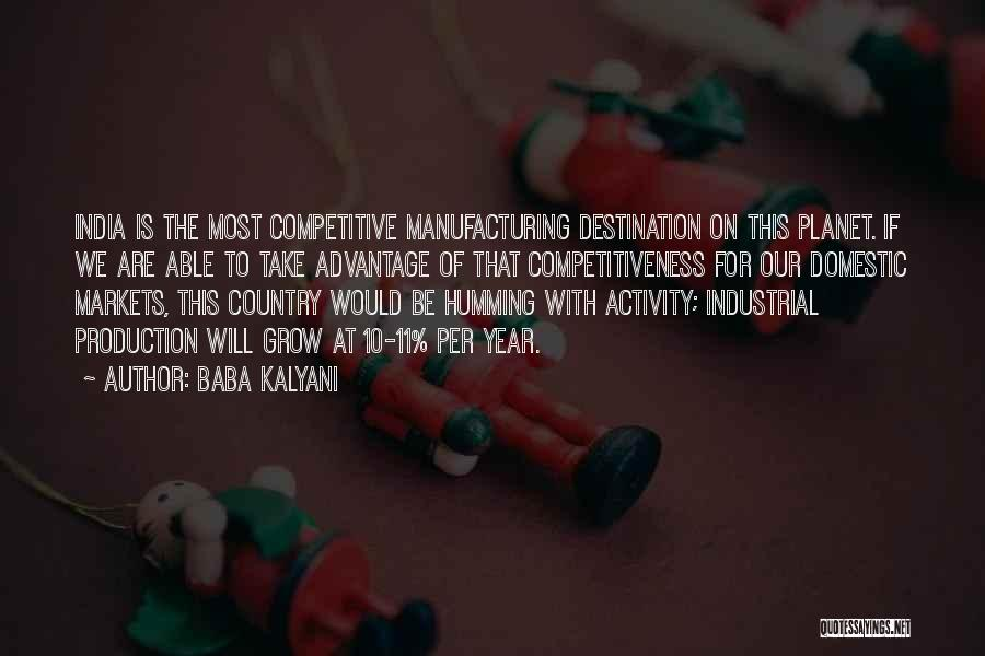 Competitive Markets Quotes By Baba Kalyani