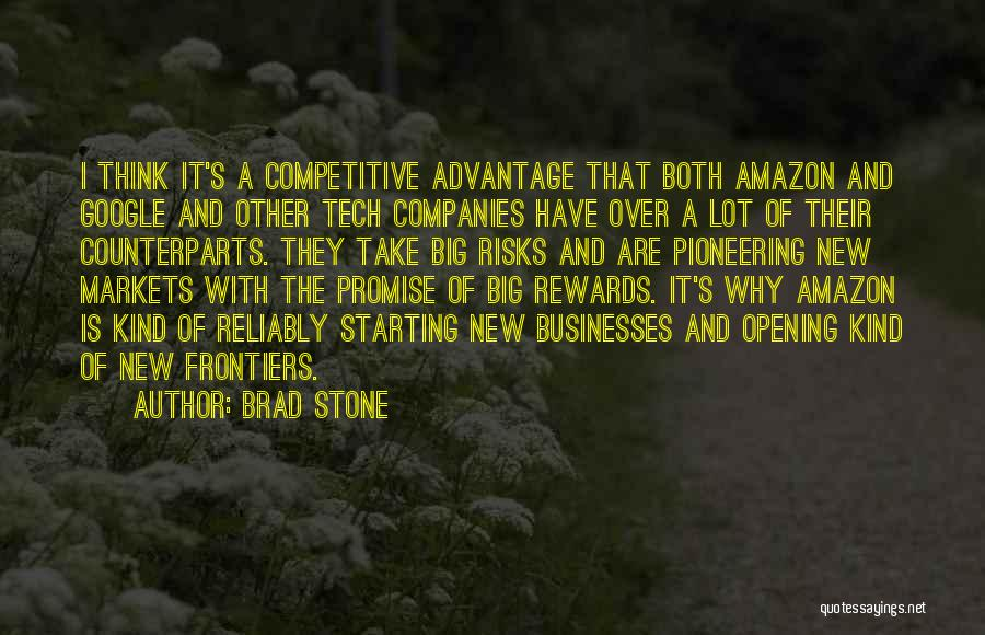 Competitive Markets Quotes By Brad Stone
