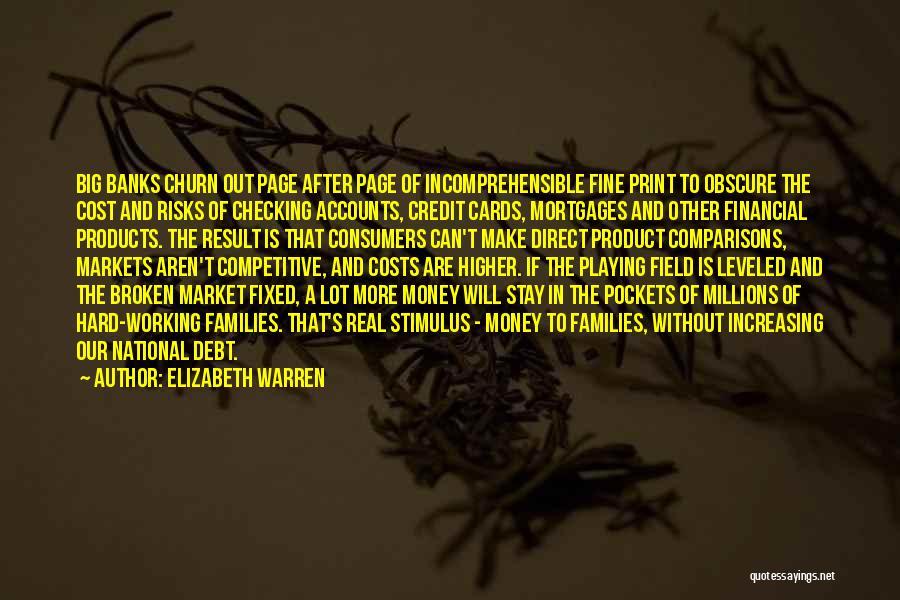 Competitive Markets Quotes By Elizabeth Warren