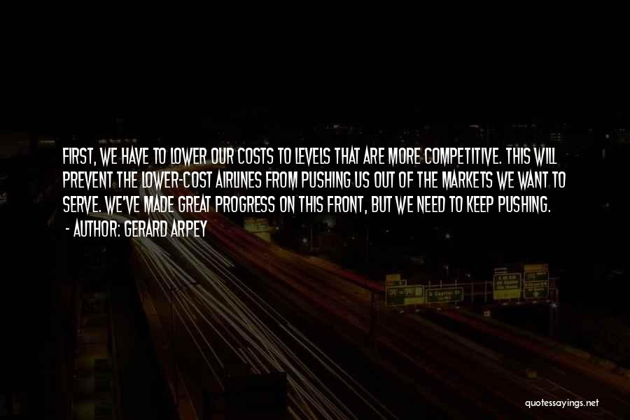 Competitive Markets Quotes By Gerard Arpey